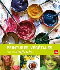 Peintures végétales avec les enfants