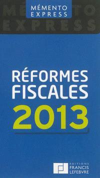Réformes fiscales 2013
