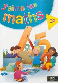 J'aime les maths, CP : cahier-livre