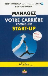 Managez votre carrière comme une start-up
