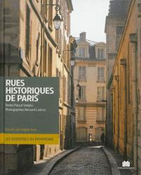 Rues historiques de Paris = Historic streets of Paris
