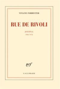 Rue de Rivoli : journal : 1966-1972