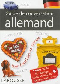 Guide de conversation : allemand