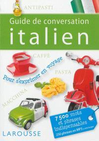 Guide de conversation : italien