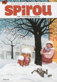 Recueil du journal de Spirou. Volume 328, Du 14 novembre 2012 au 16 janvier 2013