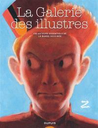 La galerie des illustres : 200 auteurs essentiels de la bande dessinée