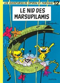 Spirou et Fantasio. Volume 12, Le nid des marsupilamis