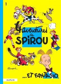 Spirou et Fantasio. Volume 1, Quatre aventures de Spirou