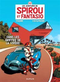 Les aventures de Spirou et Fantasio. Volume 53, Dans les griffes de la vipère