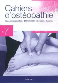 Diagnostic ostéopathique différentiel dans les situations d'urgence