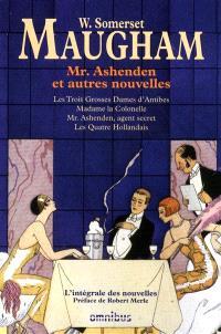 Mr. Ashenden : et autres nouvelles