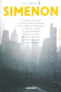 Tout Simenon. Volume 1