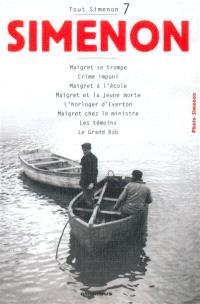 Tout Simenon. Volume 7