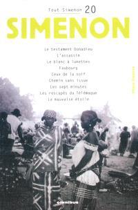 Tout Simenon. Volume 20