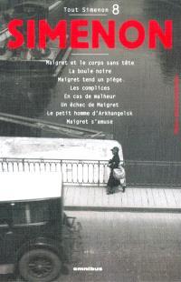 Tout Simenon. Volume 8