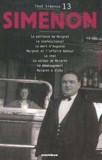 Tout Simenon. Volume 13