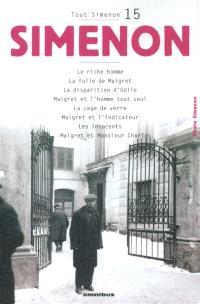 Tout Simenon. Volume 15