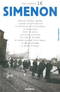 Tout Simenon. Volume 16
