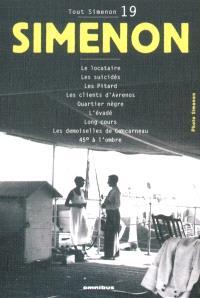 Tout Simenon. Volume 19