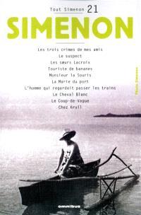 Tout Simenon. Volume 21
