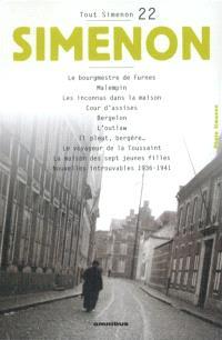 Tout Simenon. Volume 22