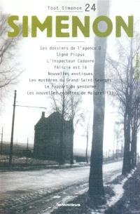 Tout Simenon. Volume 24