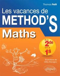 Les vacances de Method'S, Maths de la 2de vers la 1re S