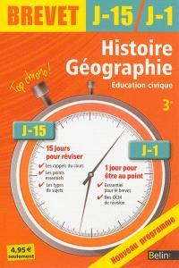 Histoire géographie, éducation civique 3e : nouveau programme
