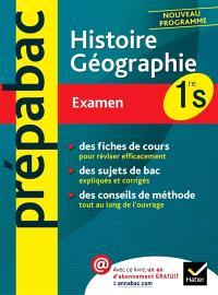 Histoire géographie 1re S : examen