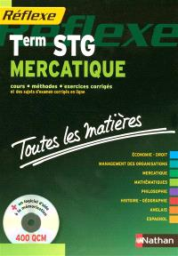 Mercatique, terminale STG