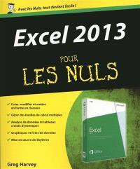 Excel 2013 pour les nuls
