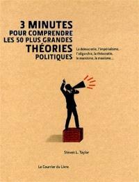 3 minutes pour comprendre les 50 plus grandes théories politiques : la démocratie, l'impérialisme, l'oligarchie, la théocratie, le marxisme, la maoïsme...