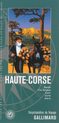 Haute-Corse : Bastia, L'Ile-Rousse, Calvi, Corte, Aléria
