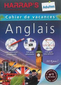 Cahier de vacances anglais Harrap's : adultes
