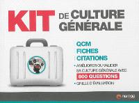 Kit de culture générale : QCM, fiches, citations