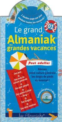 Le grand almaniak des grandes vacances 2013