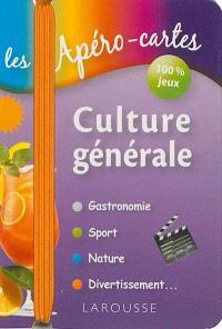 Les apéro-cartes culture générale