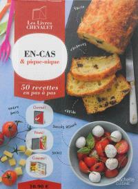 En-cas & pique-nique : 50 recettes en pas à pas