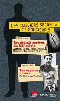 Les dossiers secrets de Monsieur X
