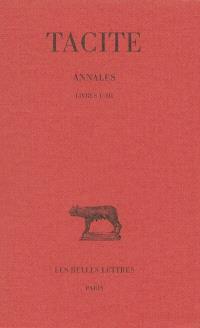 Annales. Volume 1, Livres I-III