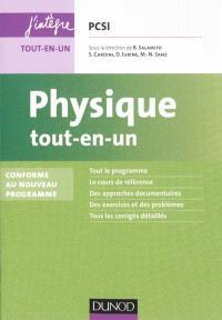Physique tout-en-un PCSI : conforme au nouveau programme