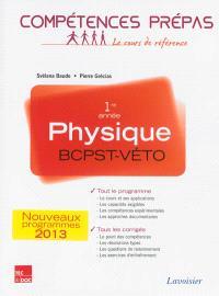 Physique BCPST-Véto, 1re année