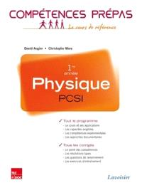 Physique PCSI 1re année : nouveaux programmes 2013