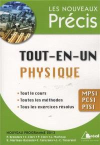 Physique tout-en-un MPSI, PCSI, PTSI