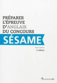 Préparer l'épreuve d'anglais du concours Sésame