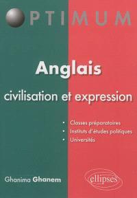 Anglais : civilisation et expression