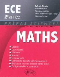 Mathématiques ECE : 2e année