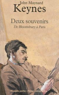 Deux souvenirs : de Bloomsbury à Paris