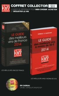 Coffret collector : guide des meilleurs vins 2014