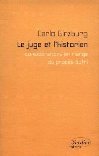 Le juge et l'historien : considérations en marge du procès Sofri